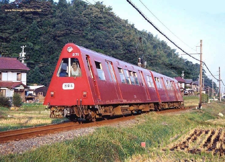 Toblerone Train