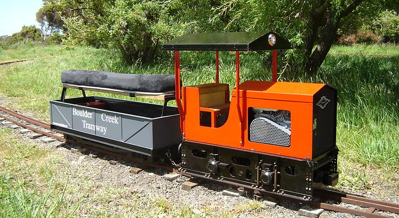 Boulder Creek Tramway Moore Model